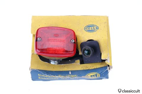 Hella Rear Fog Lamp with Switch Kit NES 1 GN11 NOS
