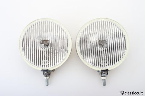 HELLA HALOGEN foglights 16cm Germany NOS