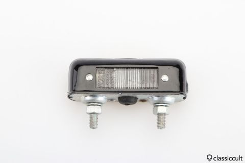 Hella K12815 3254 license plate light NOS
