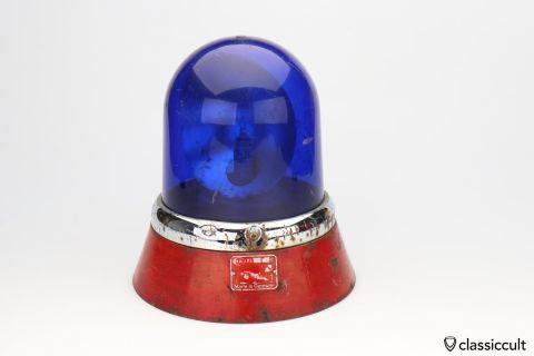 blue Hella KL8 Light Beacon lamp 6V