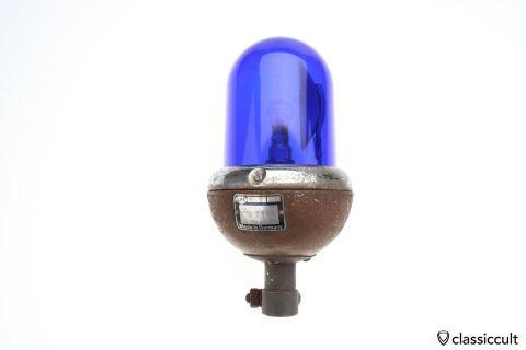 Hella KLJ 6 rotating beacon light lamp 6V