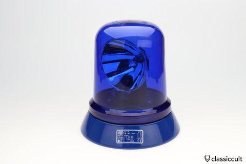 Hella Rotating Beacon KL 80 blue lens 12V