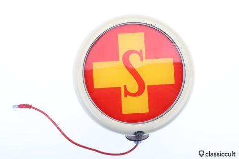 Hella VW Ambulance S red cross roof light