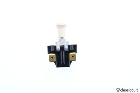 ivory Bosch pull switch 4-terminal NOS