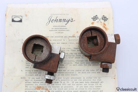 Johnny's Speed VW Bug front end adjuster