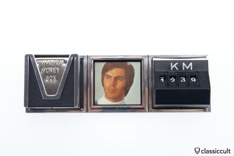 Miles Counter Pic Frame Money Box NOS