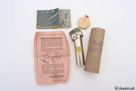 KOBOLD auto alarm 1948 Germany NOS