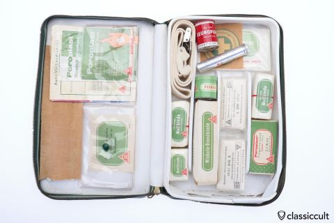 Lohmann first aid kit 60ies VW Beetle