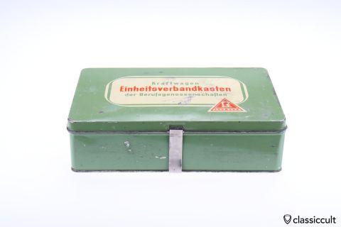 vintage Lohmann car first aid box 60ies
