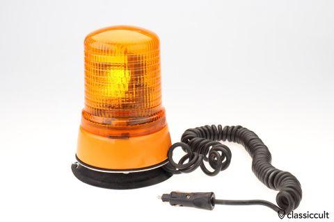 Magnetic 12V Hella KL70M beacon orange
