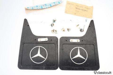 Mercedes W123 Wegu Mudflaps 200 280 E NOS