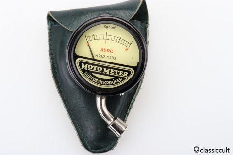 Moto Meter AERO tire pressure gauge