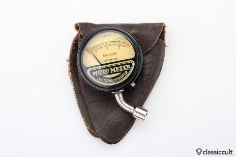 MotoMeter Ballon tire pressure tool 3,5