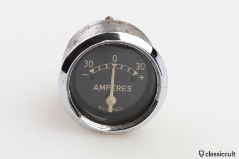 Motometer Amperes gauge 4cm Diameter