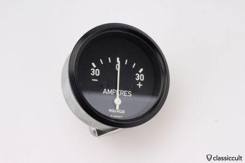 Motometer Amperes Amp gauge 1965 NOS