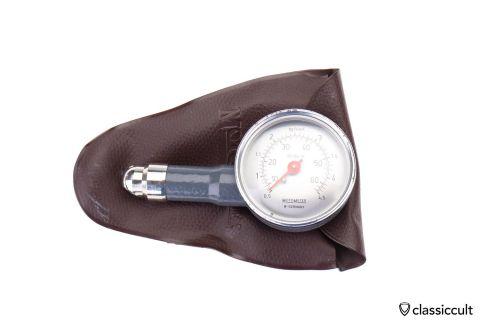 Motometer West Germany lbs bar Air Gauge