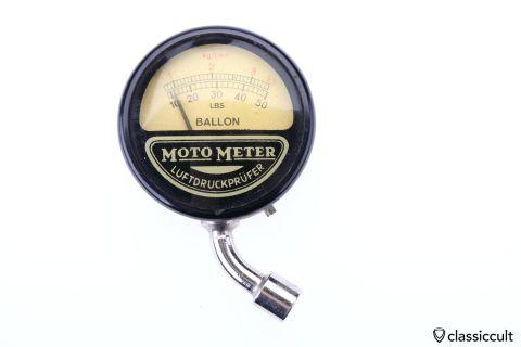 Moto Meter Stuttgart BALLON tool kit gauge kg LBS