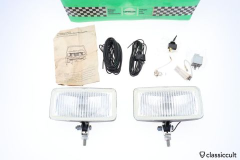 Optilux Halogen fog lights K8339 NOS