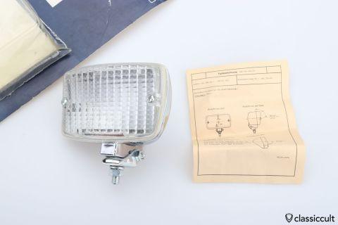 OPTILUX Reversing Lamp Germany 1979 NOS