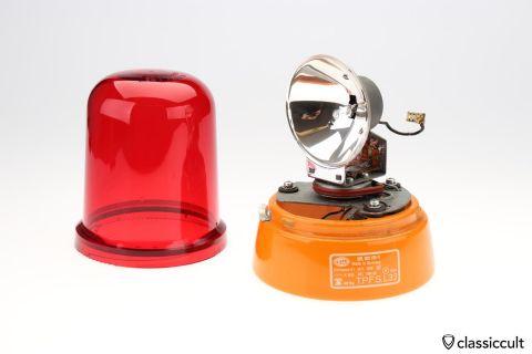 orange Hella KL J 70 flash light beacon