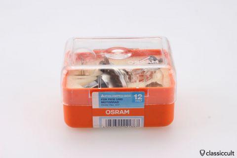 12V Osram Bilux H4 P45t bulb box NOS