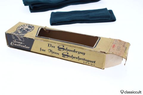 Perohaus seat belt cover VW NOS