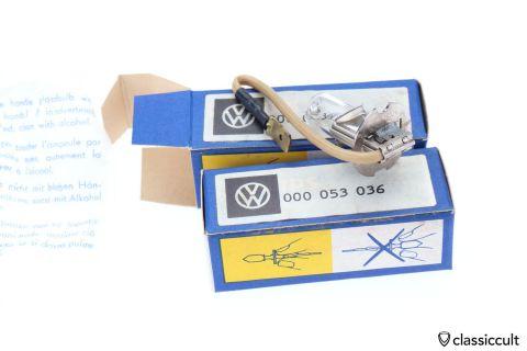 VW Philips H3 6V 55W bulb NOS