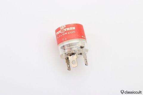 PNEUTRON 6/12V flasher relay 1967 NOS