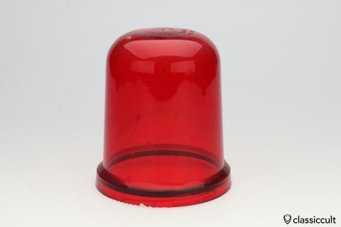 red Hella KL 70 rotating beacon lens used