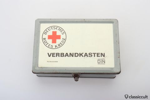 Deutsches Rotes Kreuz first aid kit 1969
