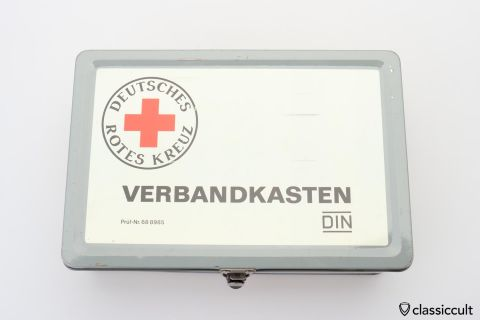 German Red Cross first aid box 1970