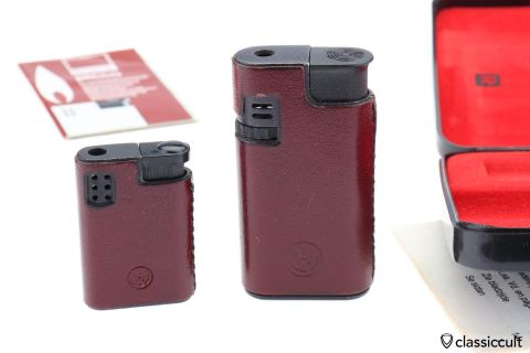 Rar VW lighter Rowenta man woman set NOS
