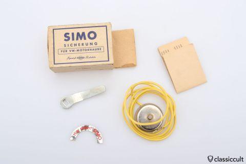 SIMO engine lid lock VW Oval Bug NOS