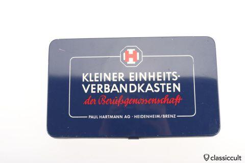 Vintage Hartmann first aid box