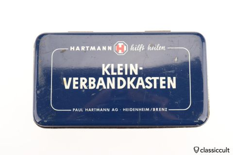 small Hartmann Germany first aid kit