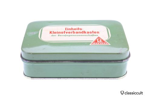 small Lohmann Germany first aid kit