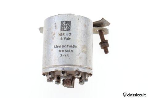 SR 85 6V Relay Umschalt Relais 1963 2 3 4 5 6 7 8 9