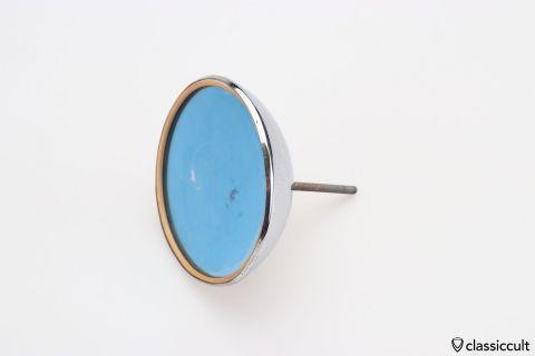 Talbot 333 mirror chrome head blue glass