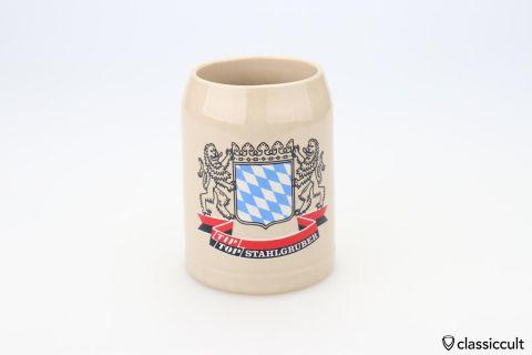 Vintage Stahlgruber VW Tip Top beer mug