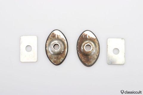 2x Hella 16/370 foglight mount brackets