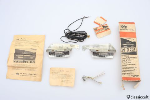 VW Type 3 Jokon reverse lights NOS