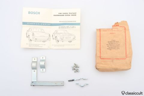 Karmann Ghia Type 34 reverse light switch bracket