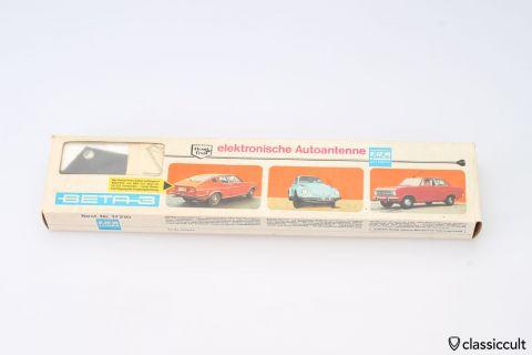 Vintage German Auto Rally Antenna NOS