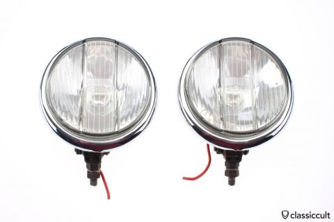 Vintage Bosch fog lights white lens