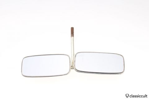 Vintage double mirror