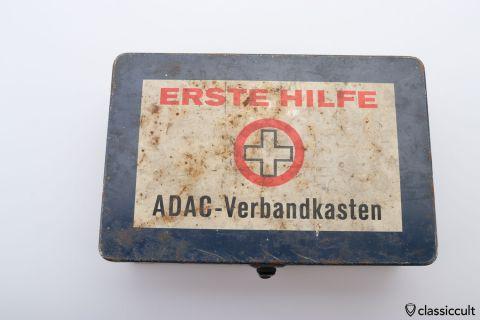 ADAC First aid tin box ERSTE HILFE
