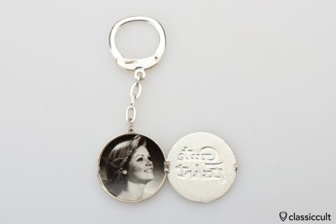 Gute Fahrt Key Fob with picture frame