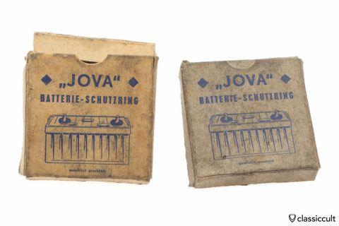 Vintage JOVA Battery Pole Protector 6V VW Porsche NOS