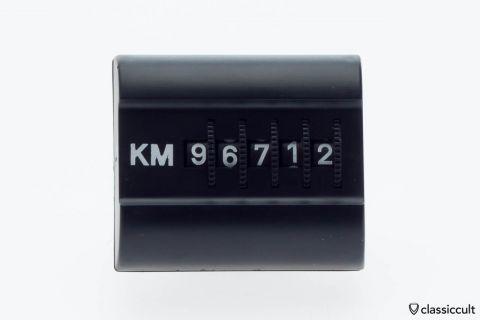 Vintage KM Kilometer dashboard trip counter NOS