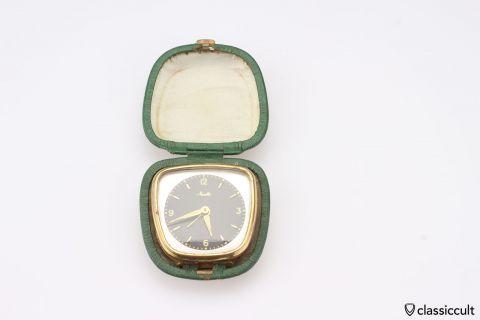 Vintage Mauthe wind up alarm clock